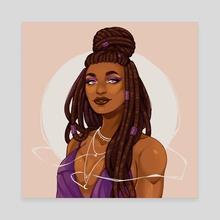 Celestine - Canvas by Jaci Eatherton