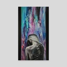 discoloration - Canvas by Daria Konova
