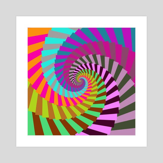 Candy Spiral 150 by Chris Foulkes