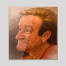 Robin - Acrylic by Dylan Vermeul