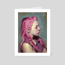 Sour Candy - Art Card by John Larriva