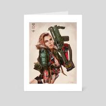 Eva - Art Card by Jude Smith