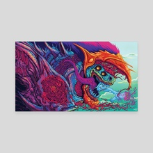 Hyper Beast - Canvas by Brock Hofer