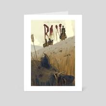 Akira Kurosawa's Ran - Art Card by rob gale