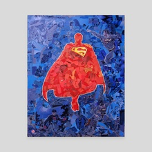 Truth and Justice - Canvas by Kyle Willis
