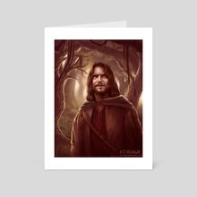 Aragorn - Art Card by Kaitlyn Firehawk