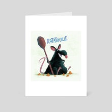 Ratatouille - Art Card by Nikolas Ilic