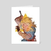 Breath of the Wild - Link - Art Card by Dzoan Ho