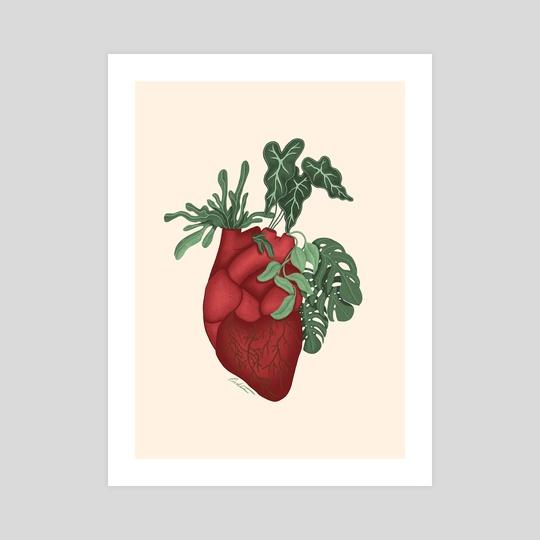 My Botanical Heart by Freya Riedlin