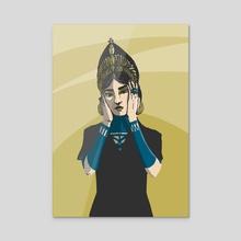 VIETGAL - Acrylic by Guyliane SCHELLE