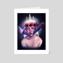 Tenderness - Art Card by Vince Patteri
