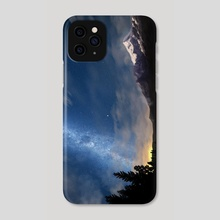 Arrival of god - Phone Case by Tchal Art