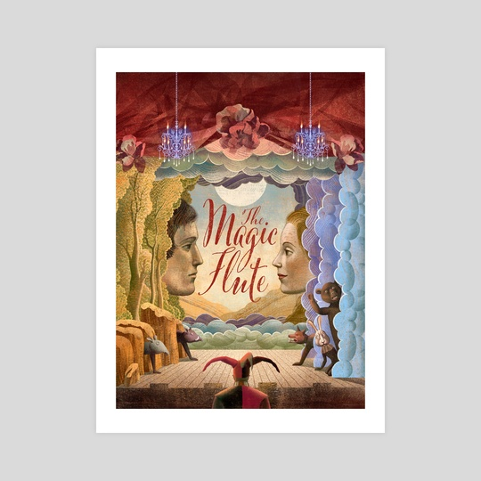 The Magic Flute Stage by Balbusso Twins by Anna and Elena Balbusso Twins