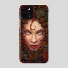 Godess - Phone Case by Kerem Beyit