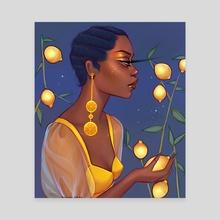 Lemonade - Canvas by Uzoma Nduka