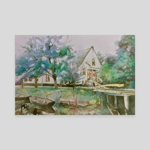 Dutch House - Canvas by Glen Neff