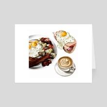 Breakfast - Art Card by Jaya  Nicely