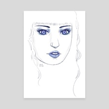 Zafiro Portrait - Canvas by Chloé Beny