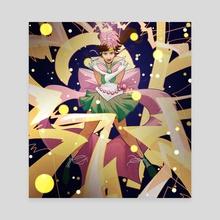 Sailor Jupiter - Canvas by Mildred Louis