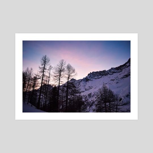 mountain sunset by Veronika Males