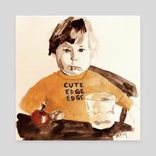 Cute Edge Edge - Canvas by Jenny Doh