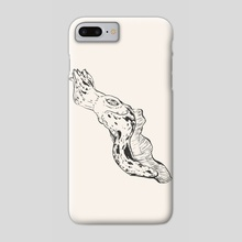 Cuttlefish // Chinese Medicine - Phone Case by Daniel Ido