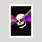 Variations on a Skull Part One - Art Print by Jason Castillo