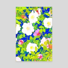 Pop Flowers - Canvas by 83 Oranges