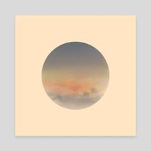 Moon 3 - Canvas by Joseph Patton