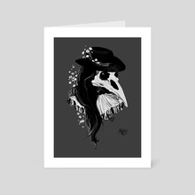 Plague Doctor - Art Card by Kate Trish