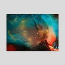 Surface of Life - Canvas by Jennifer Walsh