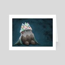 Festive Snover - Art Card by Daniel Swain