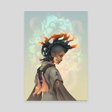 Ember - Canvas by Valentina Saran