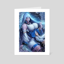 YUKI ONNA - Art Card by Jose Rod Mota