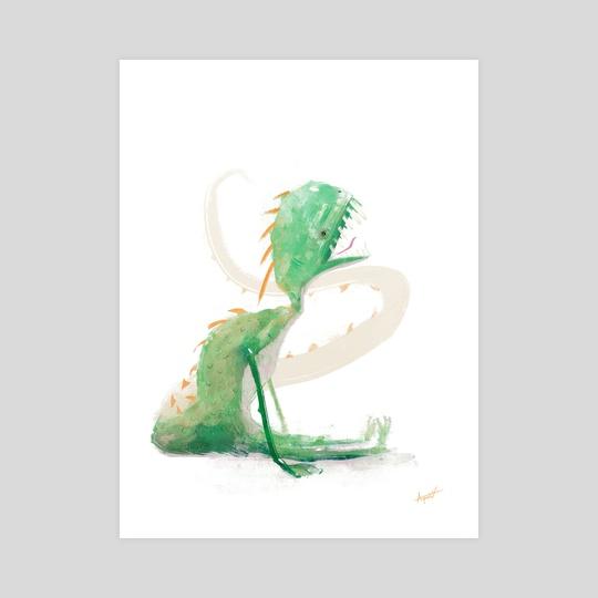Mini monster 01 by Florian Aupetit