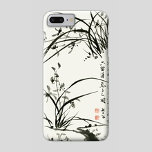 Orchid - 50 - Phone Case by River Han