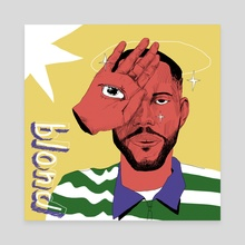 Blond - Canvas by 9ood Kiddo