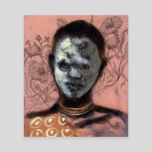 From the Omo Valley 3 - Canvas by Vinicius Chagas