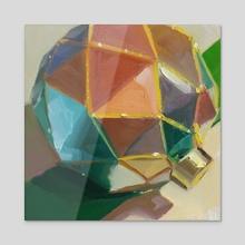 A Multi-color Ornament - Acrylic by Yuri Tayshete