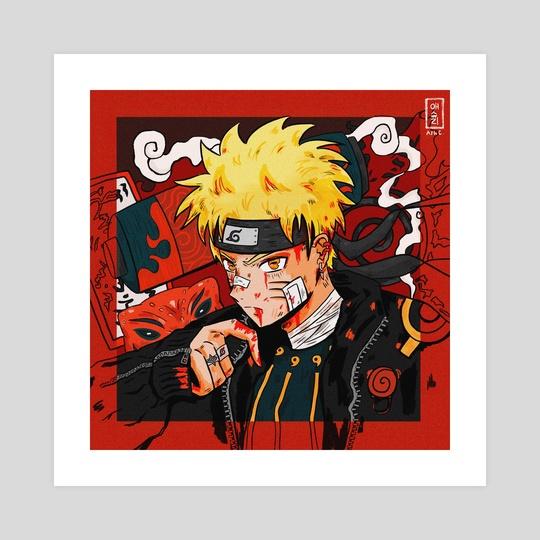 Uzumaki Naruto  by aechung