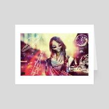 You R My Space 2 - Art Card by Vanja Rancic