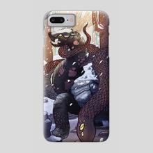 Black Tortoise - Phone Case by Brady Gurley