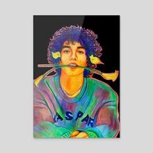 Jorge Lopez - Acrylic by Anna Shapovalova