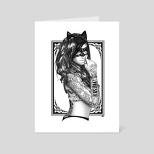 Tattoo Catwoman - Art Card by Straife01