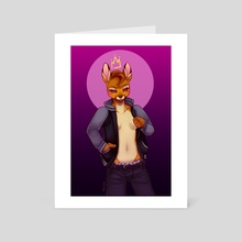 Young Prince  - Art Card by Hollifer