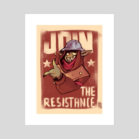 Join The Resistance by Uri Venom