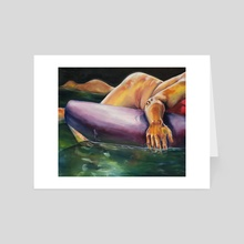 Man Overboard - Art Card by Camccat