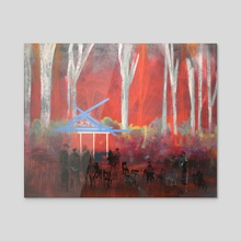 Bohemian Grove - Acrylic by richard glenn
