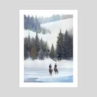 Winter - Art Print by Alexander Forssberg