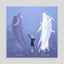Angels of Shem - Canvas by Sihu Tinymoon